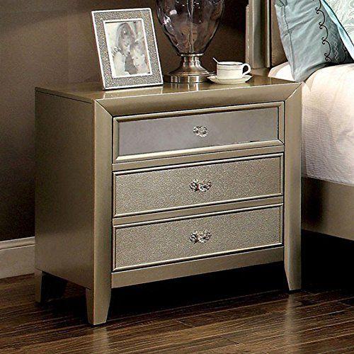 Best Furniture Of America Cm7101N Briella Silver Nightstand 27 400 x 300