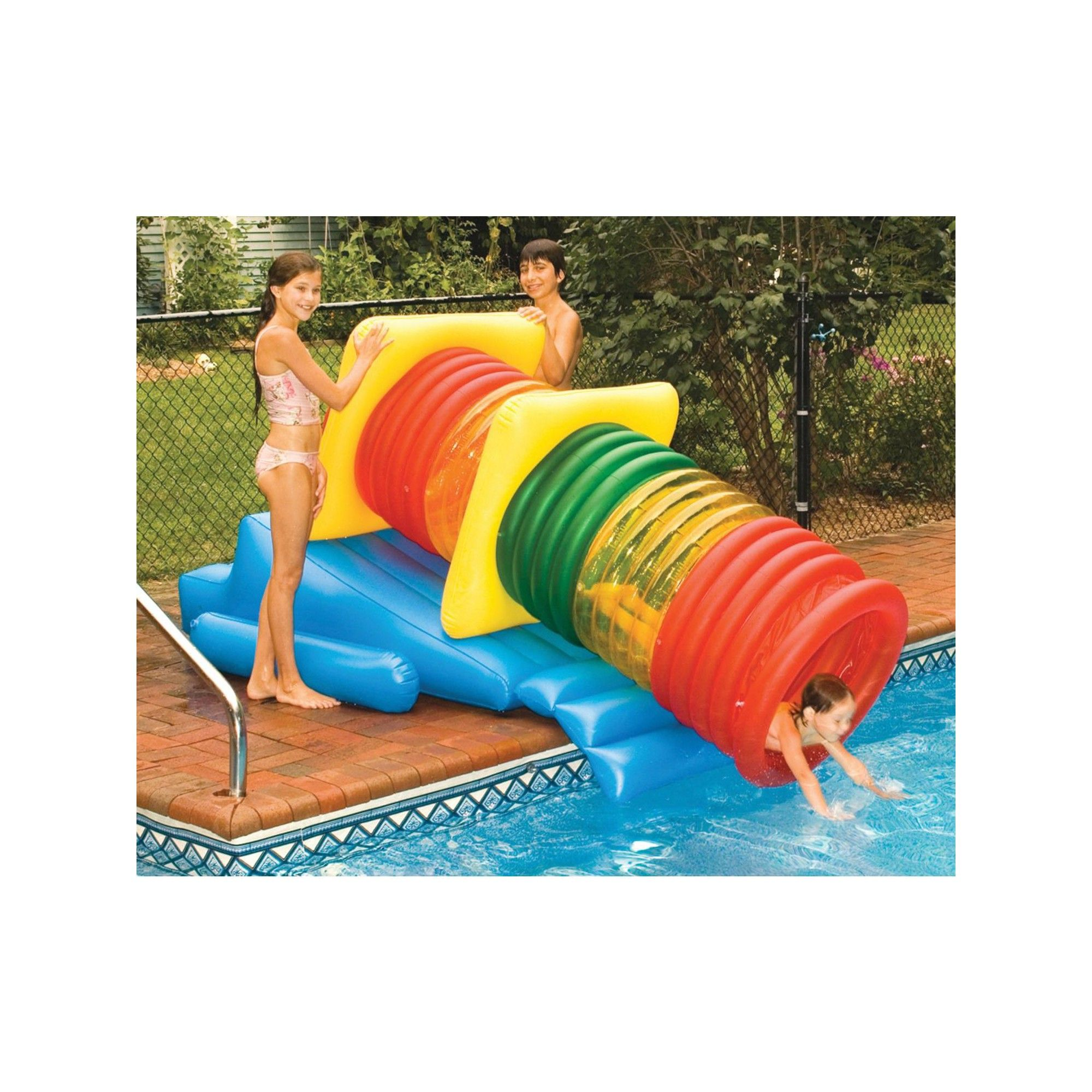 Swimline Water Park Inflatable Pool Slide