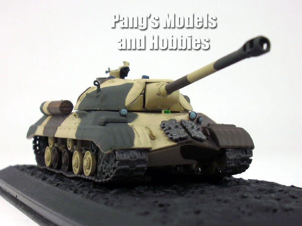 fafda63de2a7 IS-3 Main Battle Tank - Egyptian Army - 1 72 Scale Diecast Metal Model by  Altaya