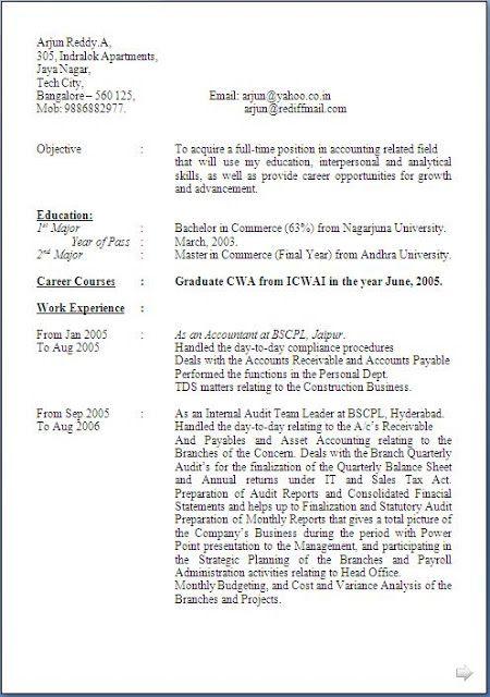 Resume Site Sample Template Example Of Excellent Curriculum Vitae