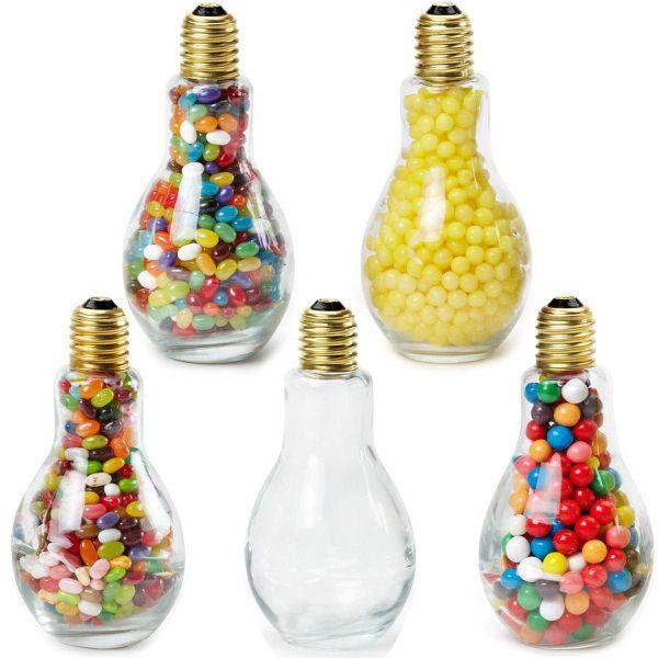 Jumbo Light Bulb Glass Jar Lemon Heads Light Bulb Jar Light Bulb Crafts Glass Jars