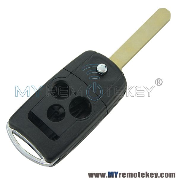 Flip Key Shell 3 Button For Acura TSX 2009-2011