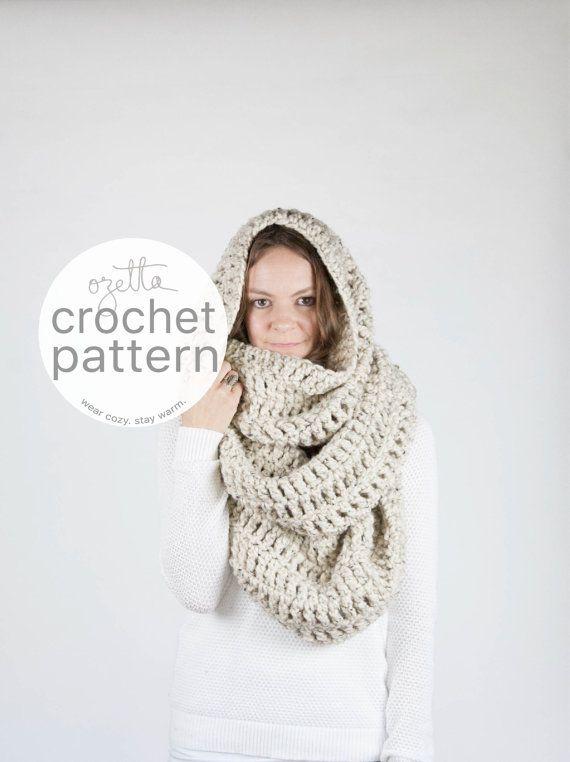 Pattern / Ozetta Extra Large Blanket Scarf Huge Chunky by ozetta ...