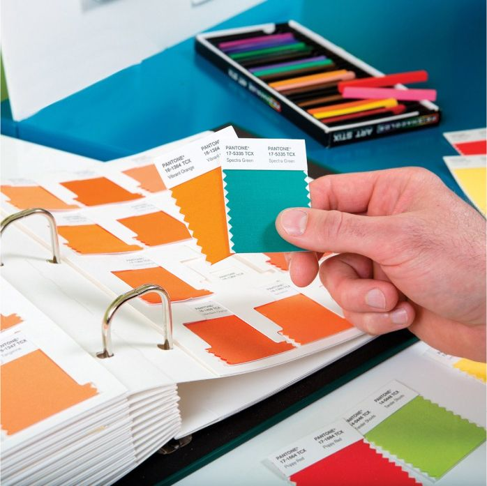 Pantone TCX Cotton Swatch Library Fashion + Home + Interiors   Design Info