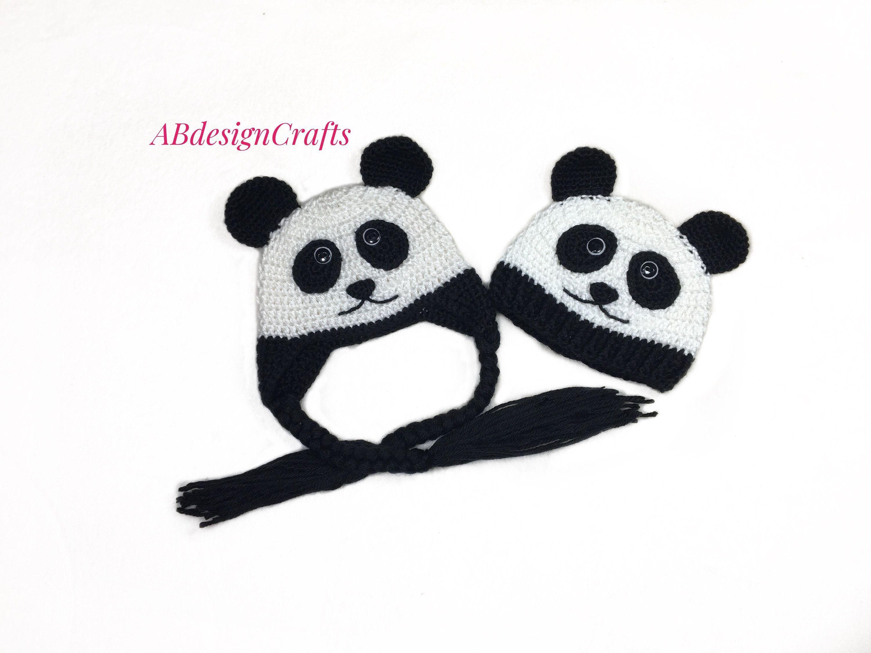 Fantastic Pic Crochet Baby Mädchen Halloween Beliebte Baby Panda Bär Halloween Cos  Fantastic Pic Crochet Baby Mädchen Halloween Beliebte Baby Panda Bä...
