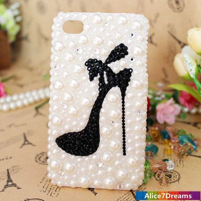 high heel shoe case Luxury iPhone 5S  iPhone 5S by Alice7Dreams