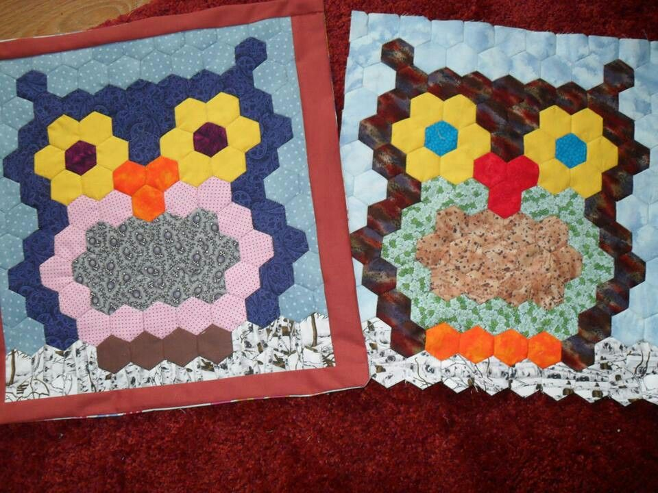 Cute owl quilt | Quilting | Pinterest | Owl quilts, Owl and Paper ... : owl pattern quilt - Adamdwight.com