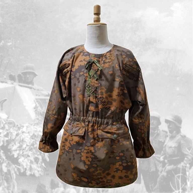 WW2 German Elite M42 Oak Leaf Smock Jacket Handmade High Level Quality TOP Repro