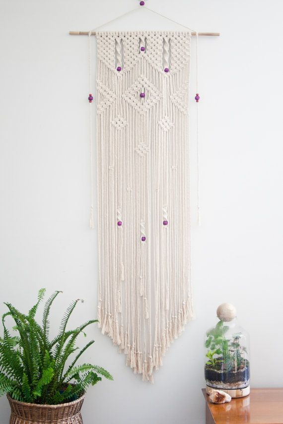 This Wall Hanging Is A Modern Take On The Popular 70s Art