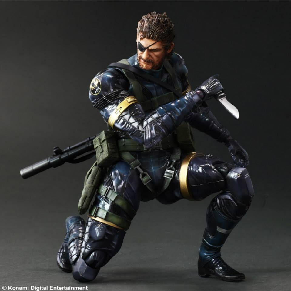Play Arts Kai MGSV Snake