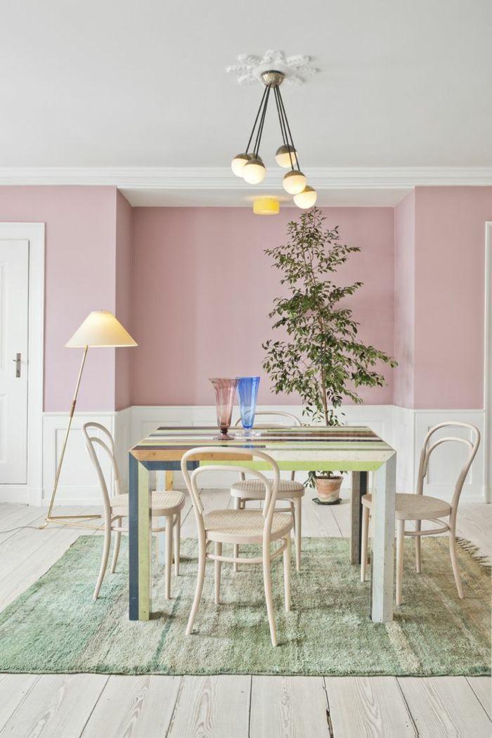 1001 Ideen Fur Altrosa Wandfarbe Zum Geniessen Altrosa Wandfarbe Altrosa Schlafzimmer Und Wandgestaltung Wohnzimmer Farbe