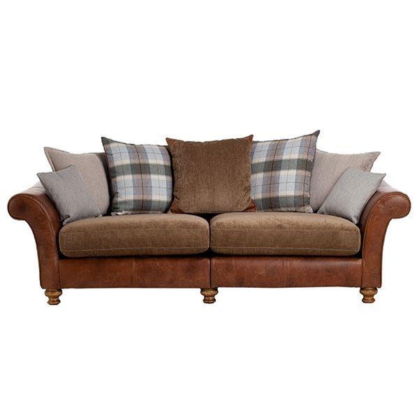 Spurling 4 Seater Sofa Pillow Back Sofas Living Room
