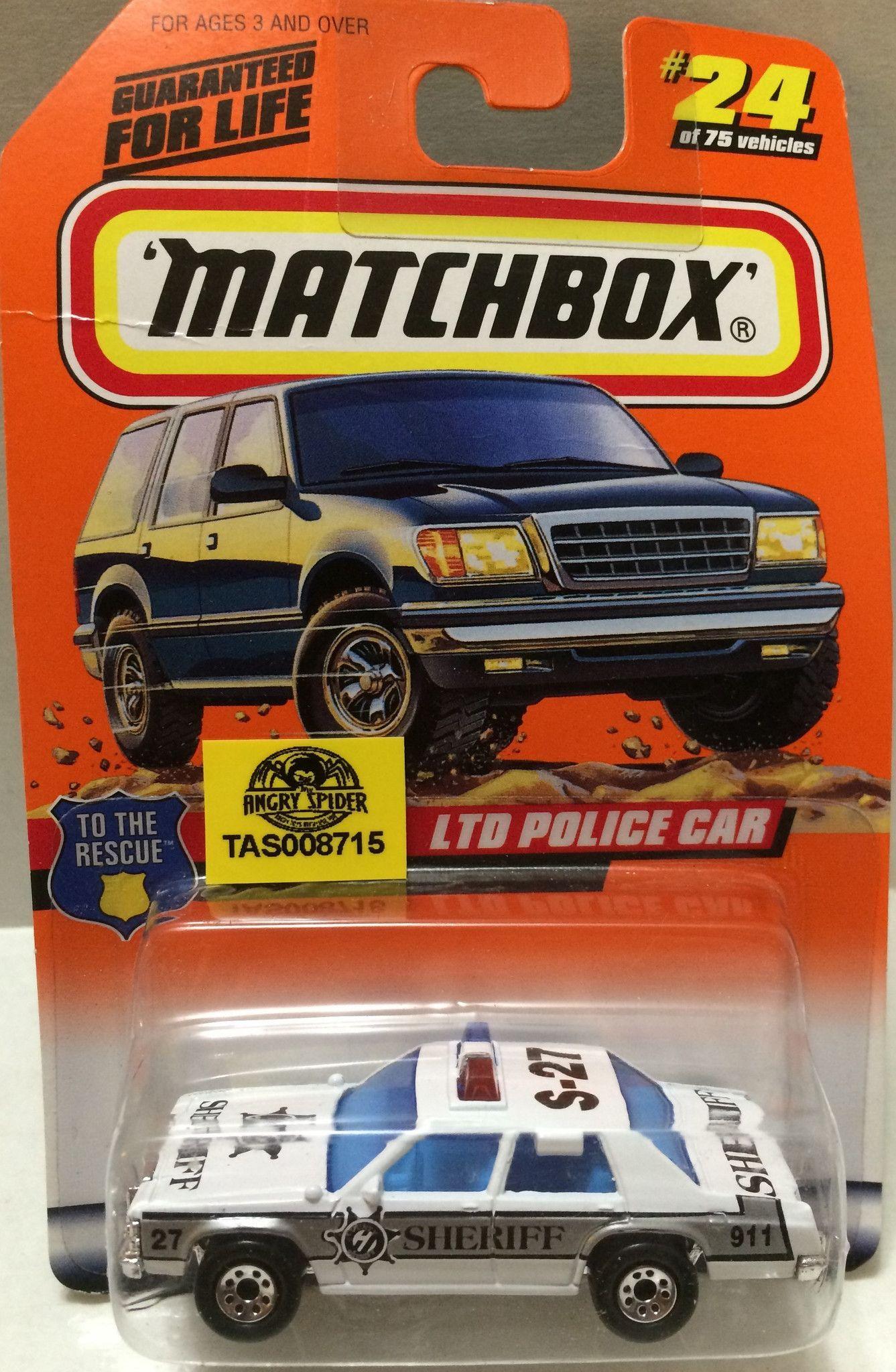 Toys cars pics  TAS  Matchbox DieCast Racing Car  LTD Police Car