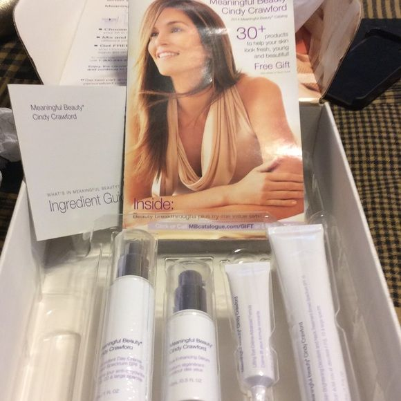 Meaningful Beauty Cindy Crawford skin products ...