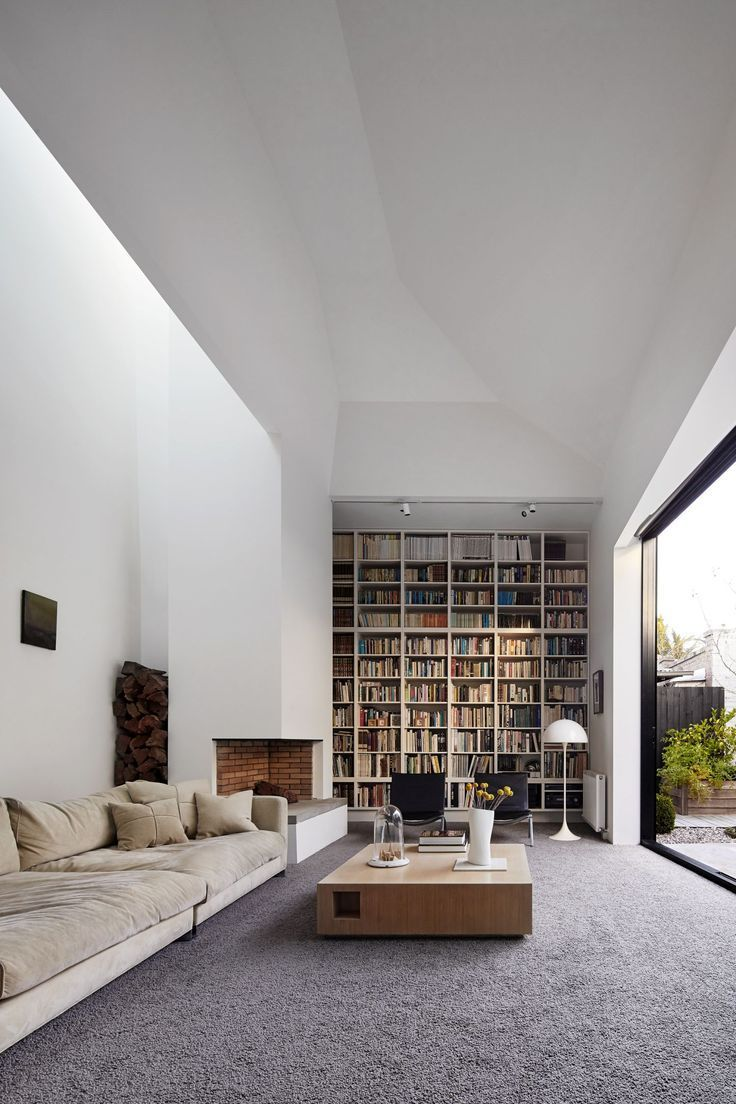 Modern Home Library Designs That Can Stand Out   Modern home library designs that stand out