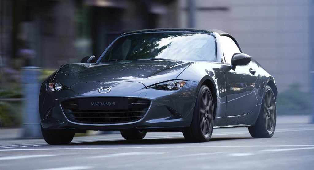 America's 2020 Mazda MX5 Adds More Standard Safety Kit