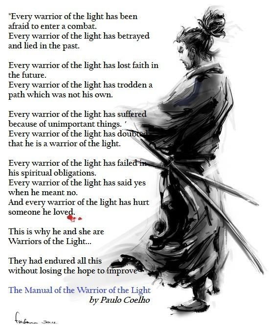 Manual of the warrior of light by paulo coelho | words || that.