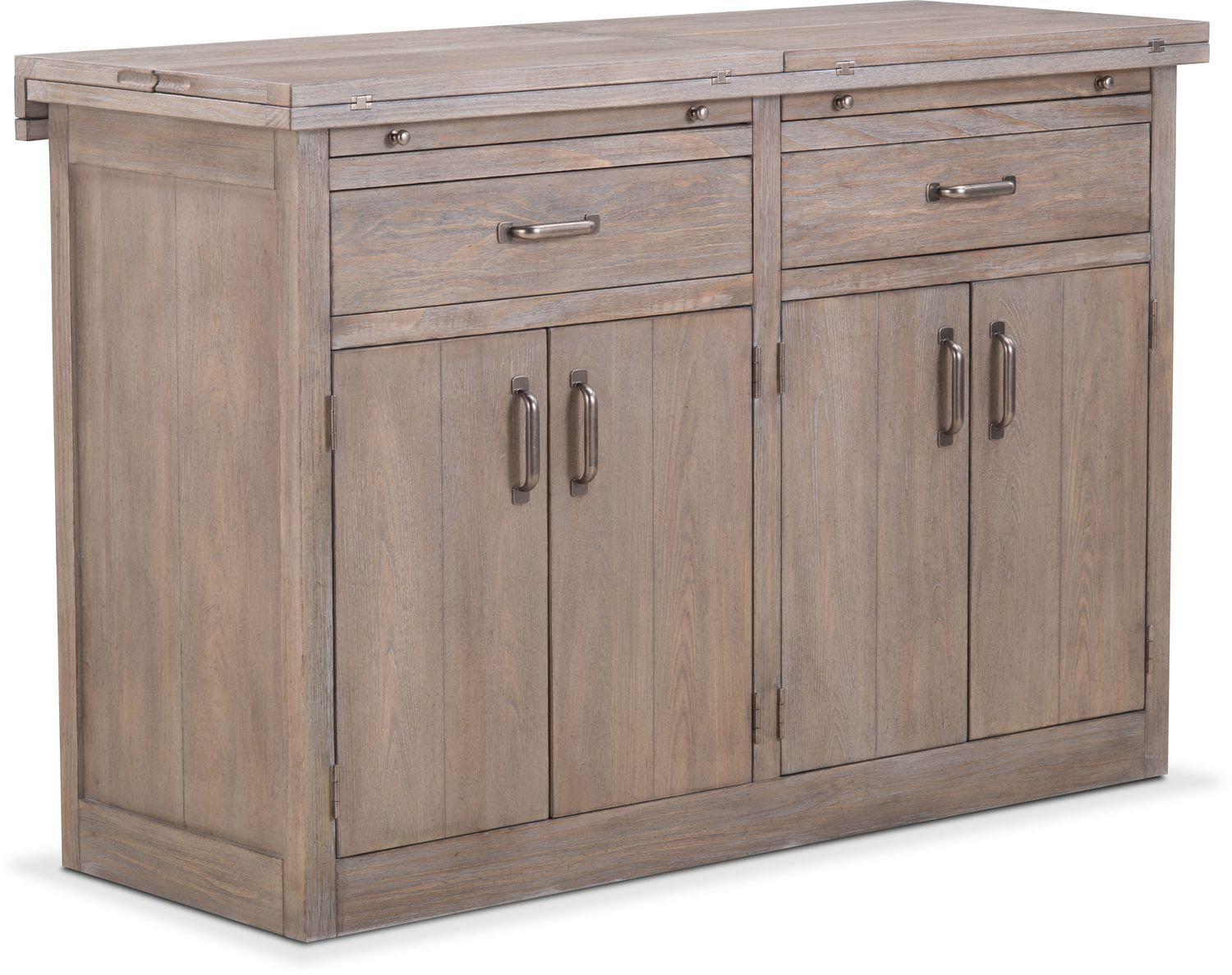 Lancaster Sideboard With Casters Parchment