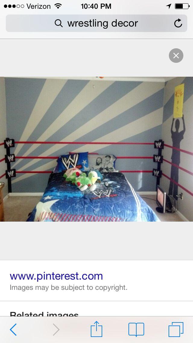 Wrestling Room Design: Pin By Ryanne Thorpe On Drews Room