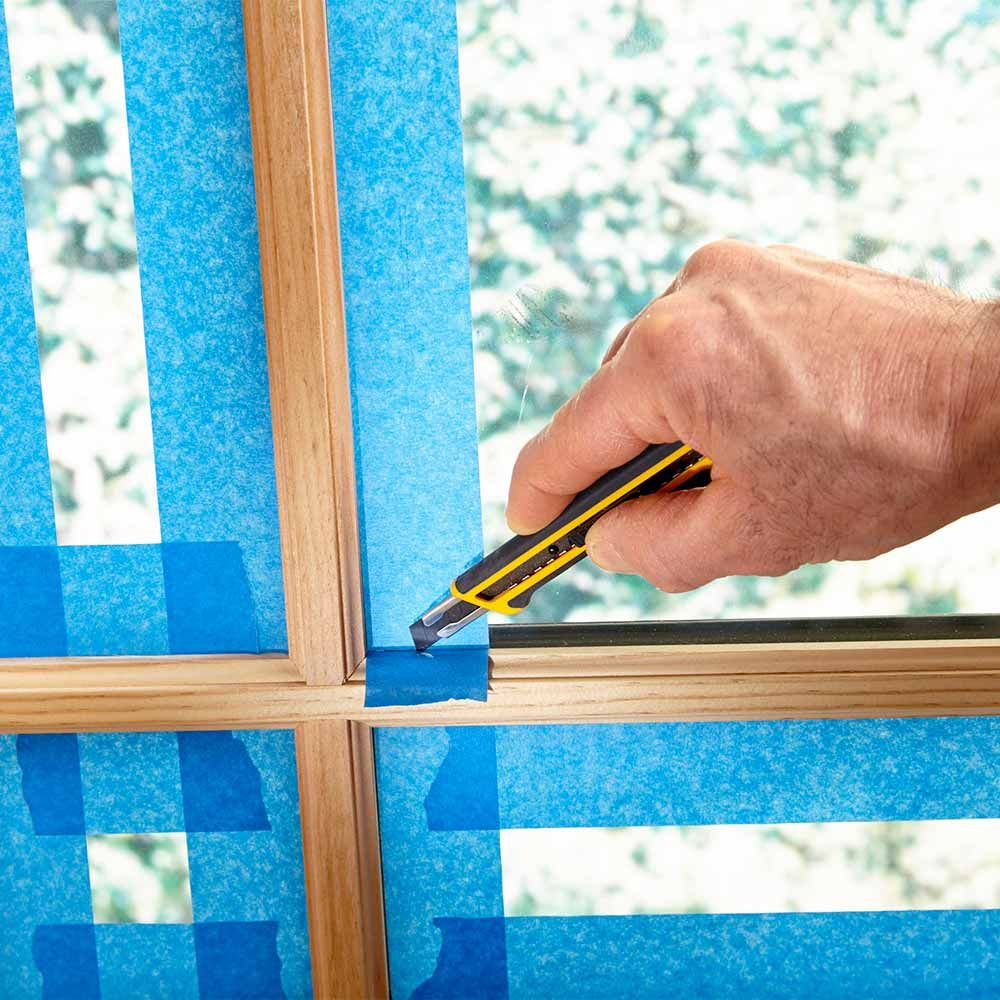 Tips For How To Use Painters Tape Painters Tape Storing Paint Paint Prep