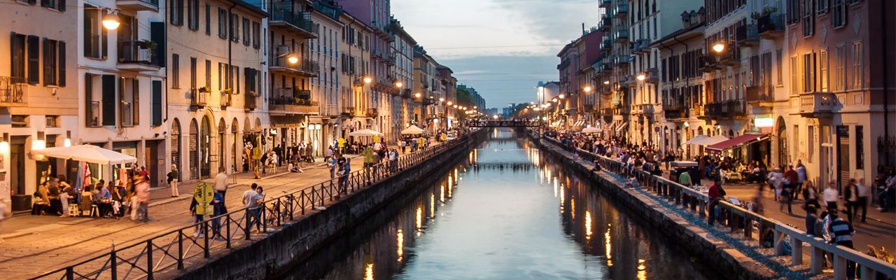 Vie d'Acqua |i navigli  Expo Milano 2015