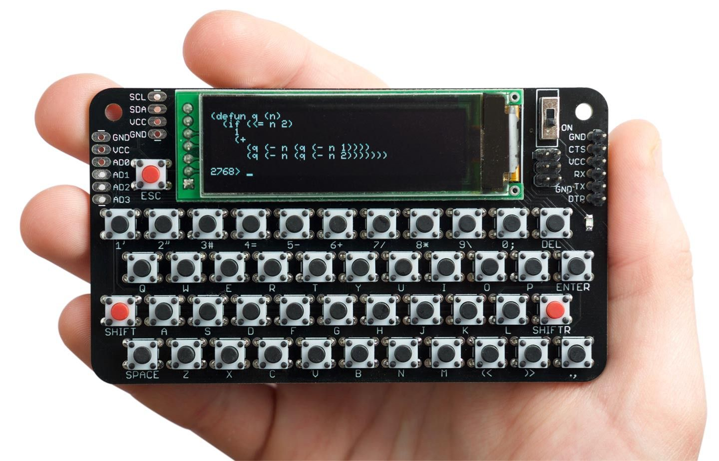 The Lisp Badge Is A Self Contained Computer Tailored To Lisp Programming Computer Projects Computer Diy Computer Programming