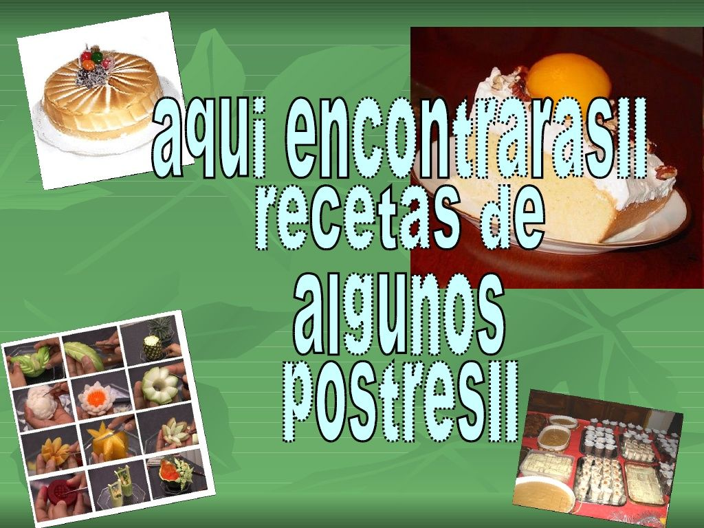 lo-que-esperas-recetas-de-postres by fabian52 via Slideshare