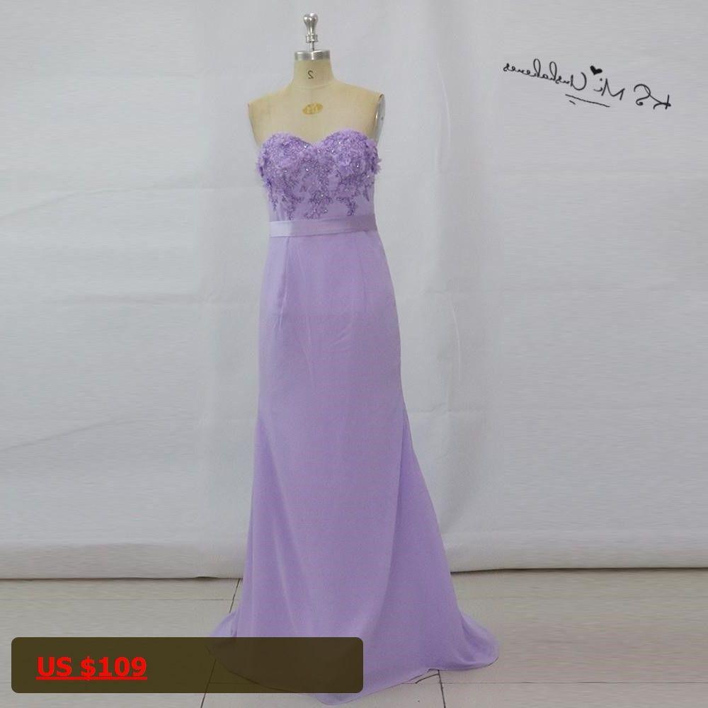 Vestidos Madrinha de Casamento Vintage Lavender Mermaid Wedding ...