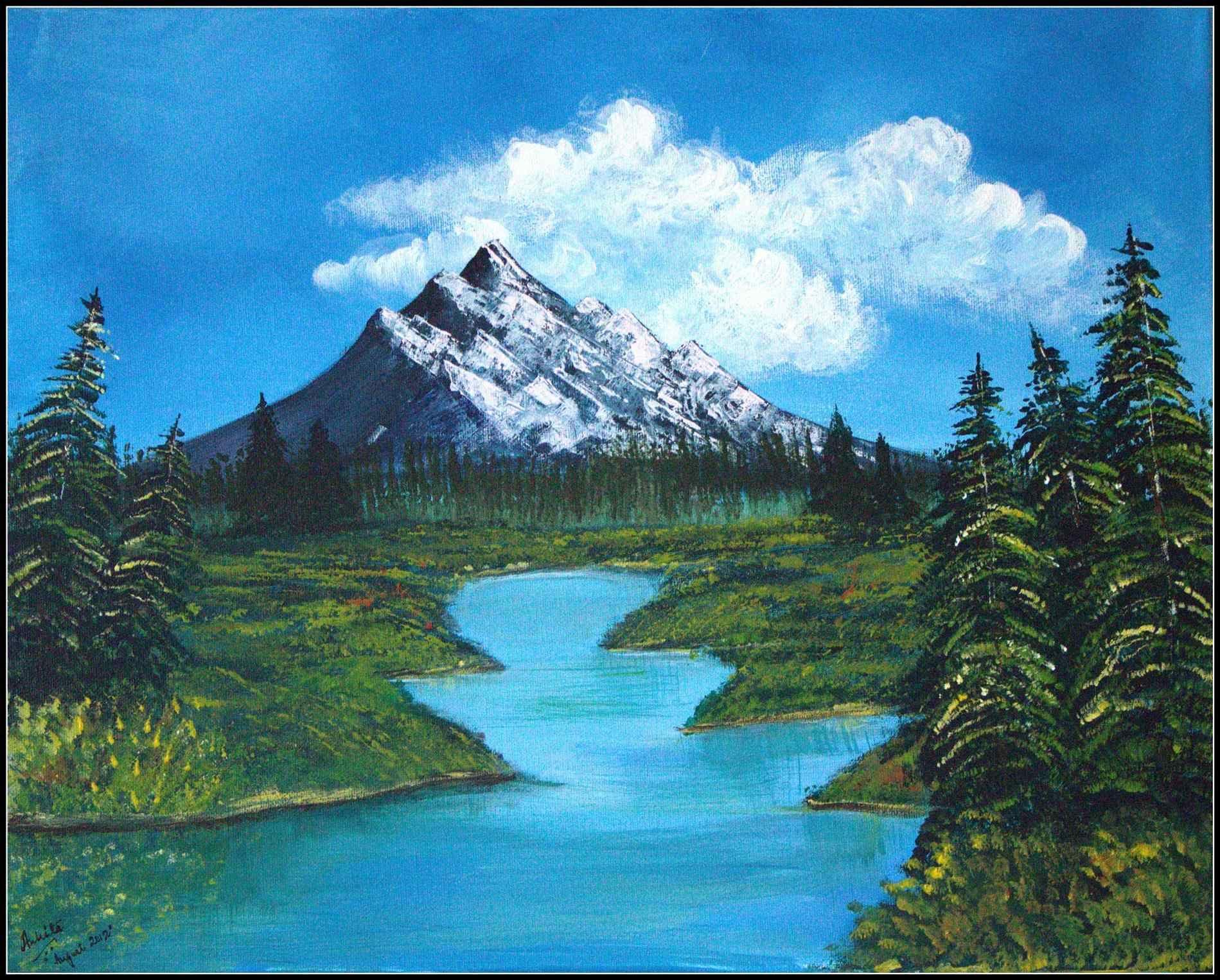 Landscape Paintings Easy ...   Landscape paintings easy, Ocean ...