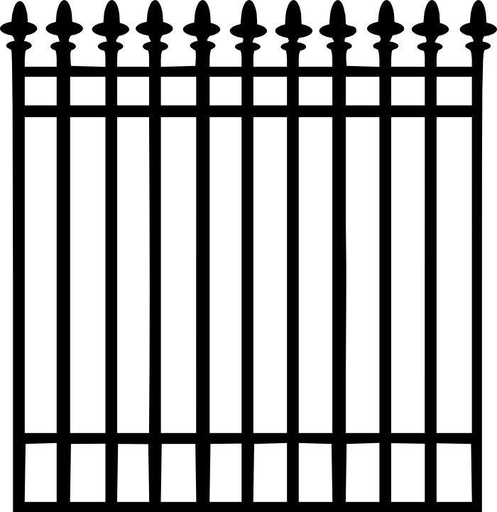 Fence Clip Art Iron Fence Wrought Iron Fences Wrought Iron