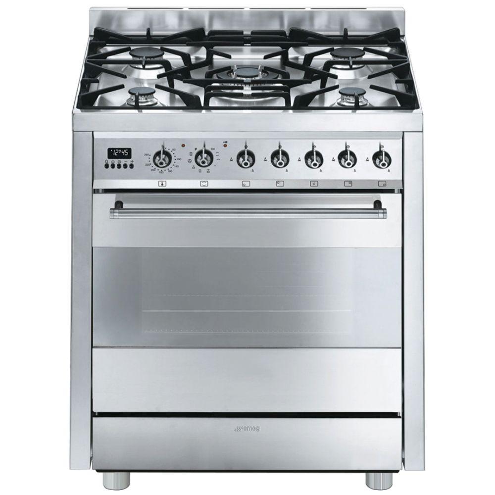 Uncategorized Kitchen Appliance City smeg c7gpx8 70cm symphony pyrolytic dual fuel cooker appliance city