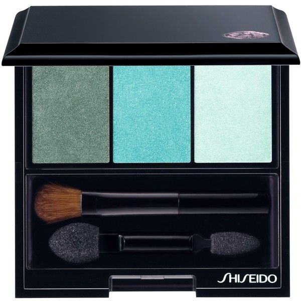 Shiseido Luminizing Satin Eye Colour Trio Palette , Lido found on Polyvore