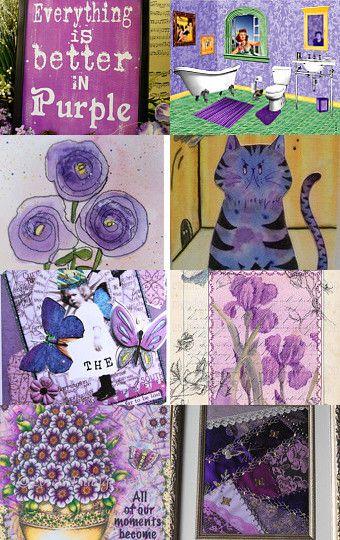 Deep Purple by Rhody Art