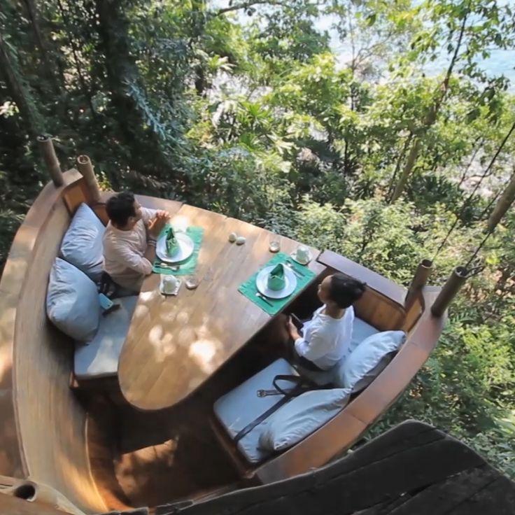 Treepod Dining | Koh Kood, Thailand – #Dining #Koh #Kood #thailand #Treepod   -  #thailandBeach #thailandKhaoLak #thailandPlage