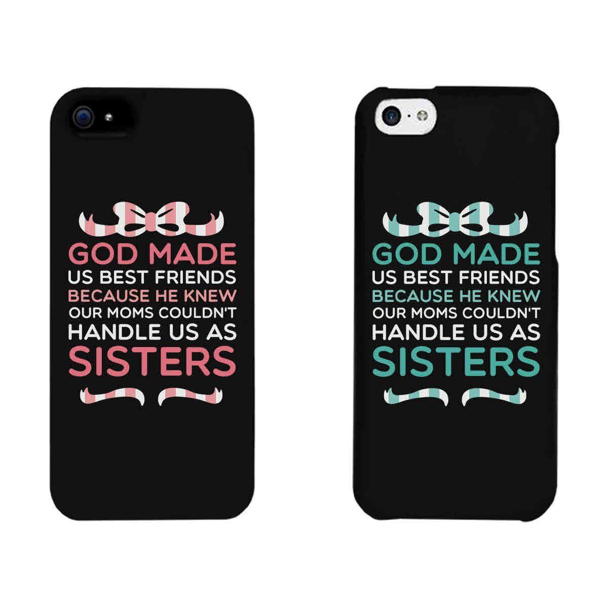 24b23efe6e Cute BFF Phone Cases - God Made Us Best Friends Phone Covers for iphone 4,  iphone 5, iphone 5C, iphone 6, iphone 6 plus, Galaxy S3, Galaxy S4, Galaxy  S5, ...