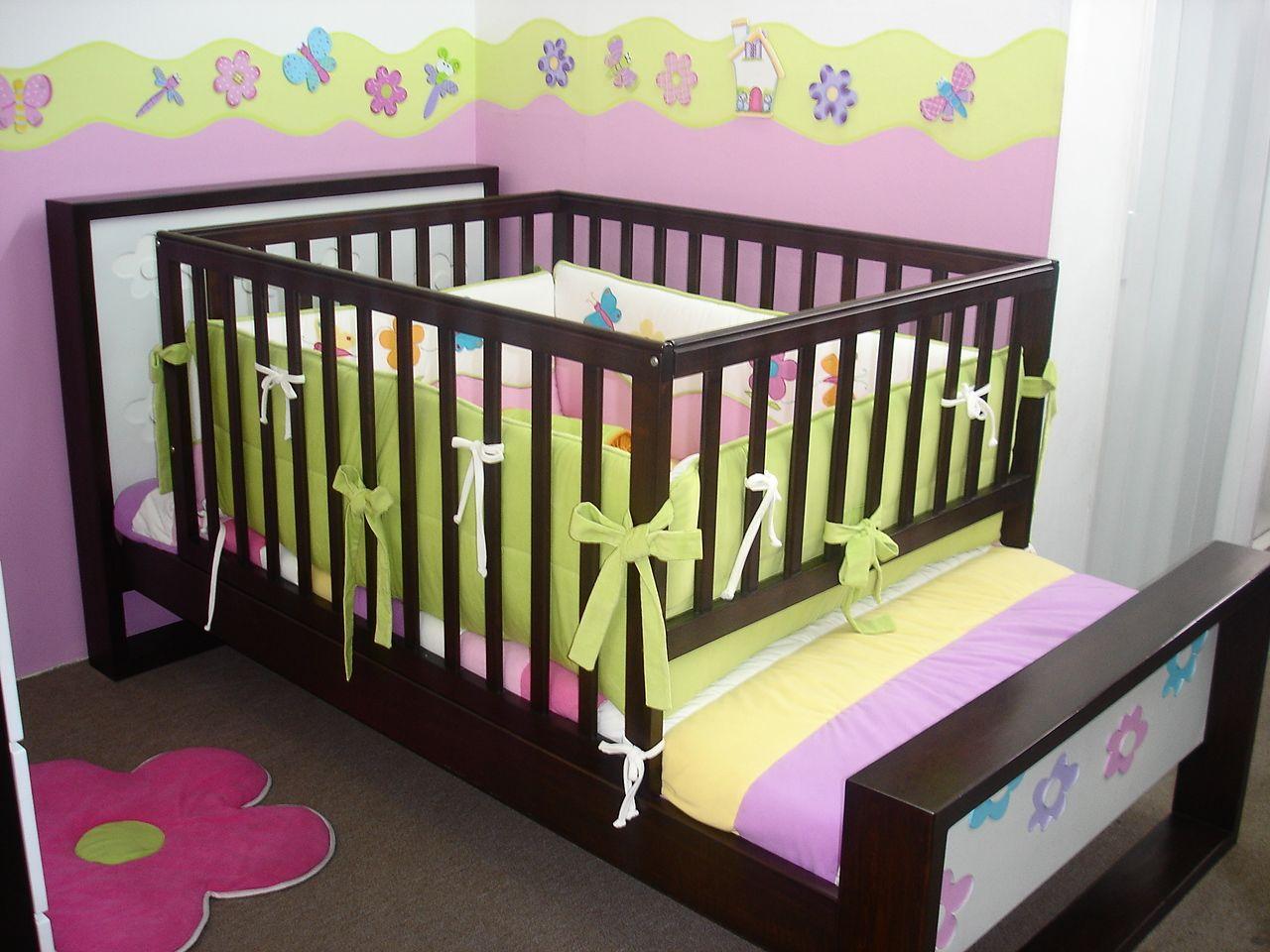 Corral para cama beb pinterest camas bebe y for Cama cuna para nina