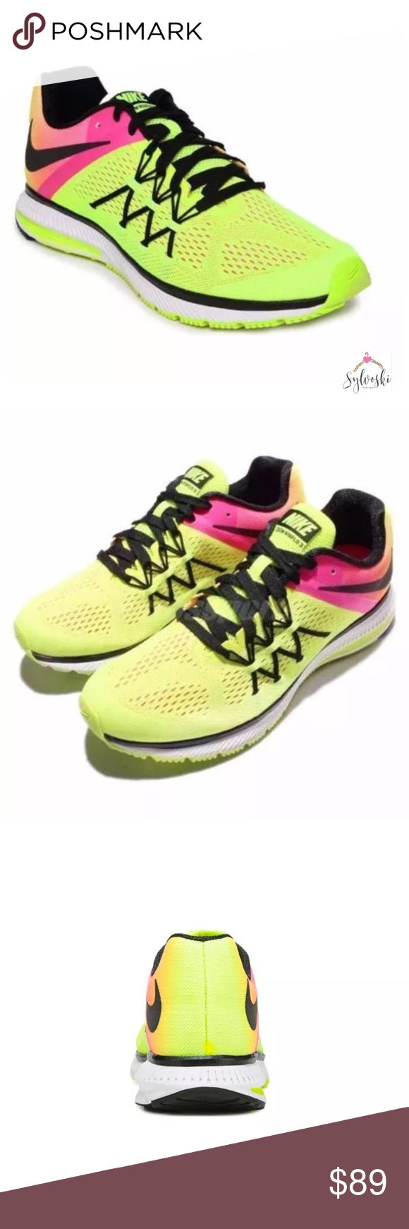 NIKE Men's Zoom Winflo 3 Running Shoe Stay up to date on the road in the  Nike Zoom Winflo 3 Running Shoe from Nike. Features & Details Breathable  engineered ...