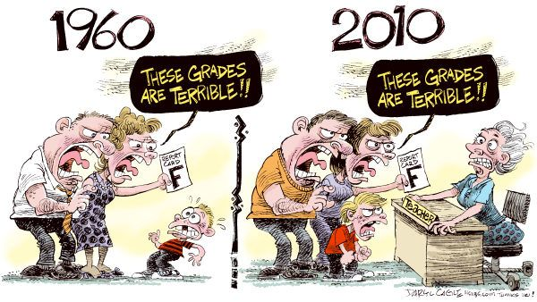 The (Flawed) Culture of Education Today | Bad grades, Parents as ...