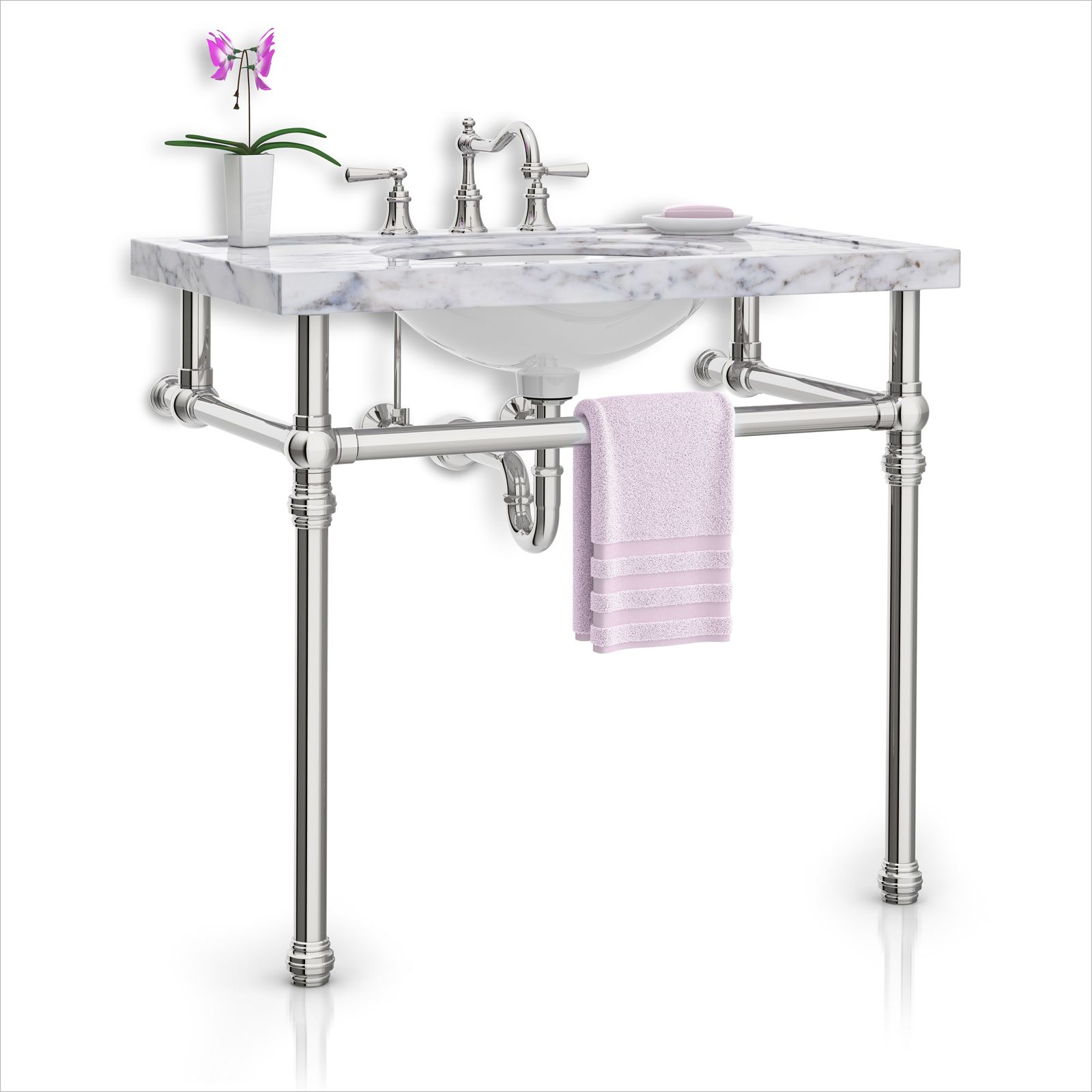Gallery of Sink Leg Styles | Palmer Industries | Console ...