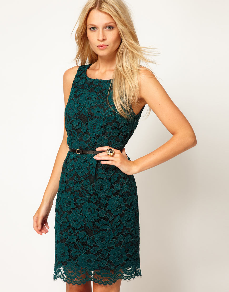 Lace Lantern Dress