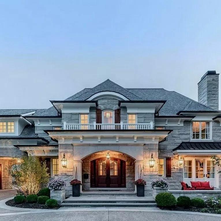 35 Most Popular Dream House Exterior Design Ideas Populardreamhouse Dreamhousedecor Dreamhouseid House Designs Exterior Dream Home Design Dream House Plans