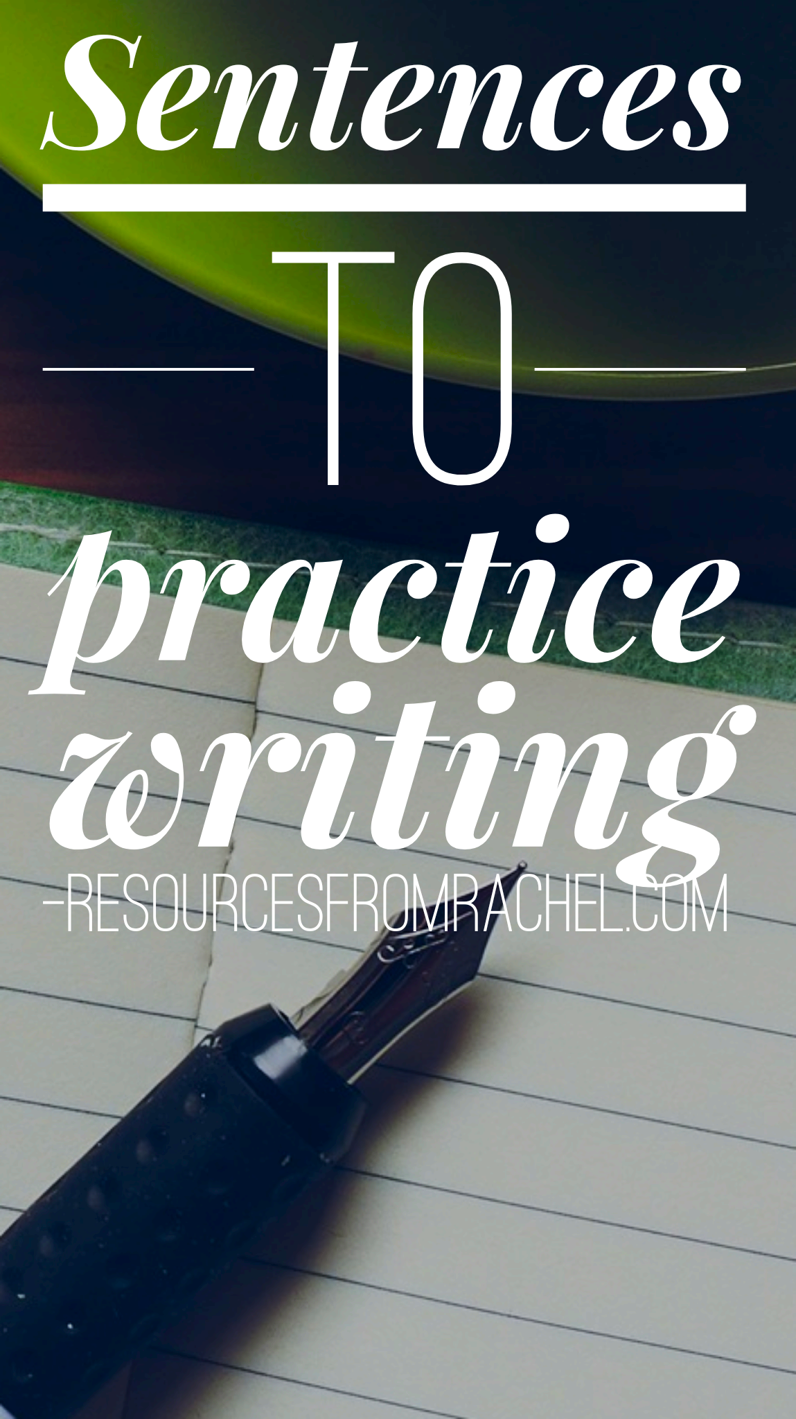 Sentences For Writing Practice In