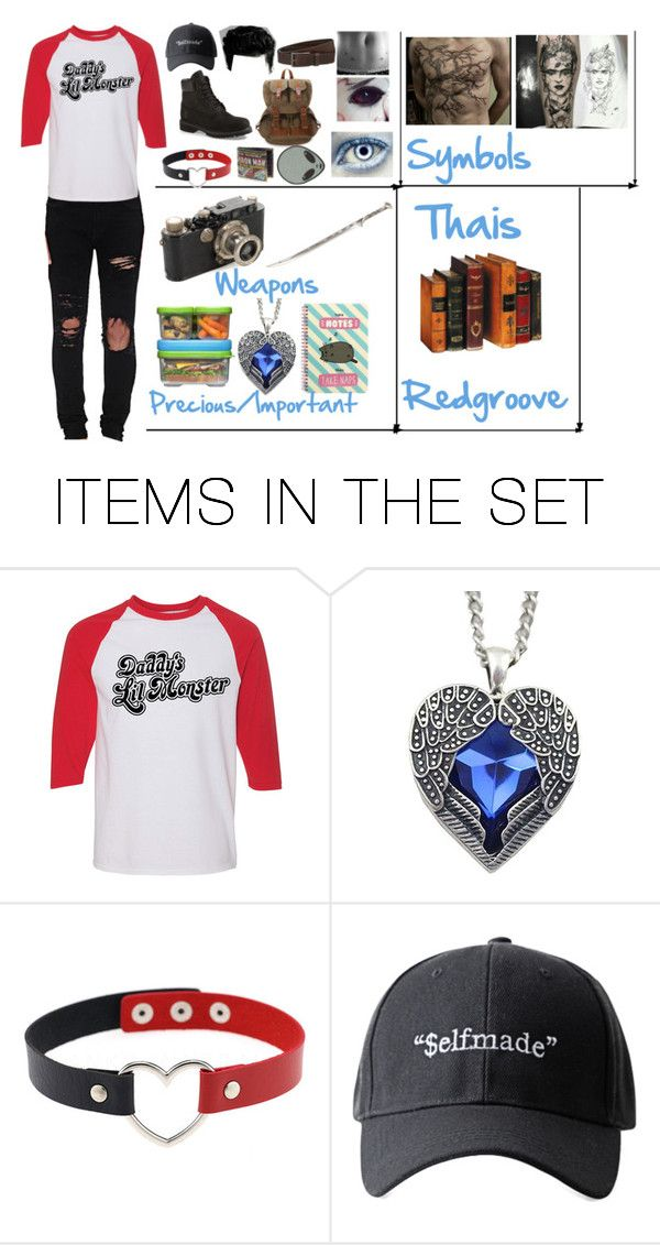 """""""Thais Redgroove"""" by kaninekiller ❤ liked on Polyvore featuring art"""