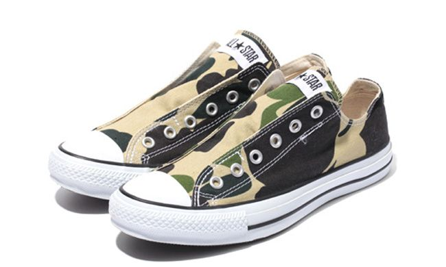Converse Chuck Taylor All Star Slip On 'Camo' | SneakerFiles