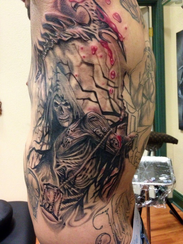 Grim Reaper tattoo by Jared-Archuleta | Tattoo | Reaper ...