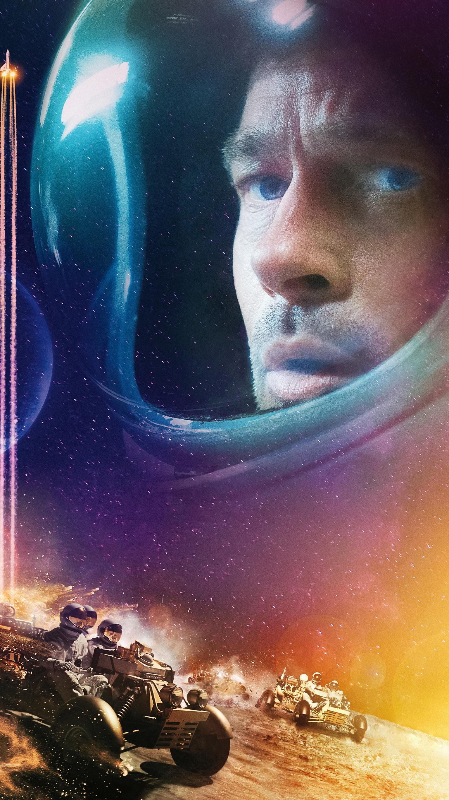 Ad Astra 2019 Phone Wallpaper Moviemania Brad Pitt Ad Astra Movie Wallpapers