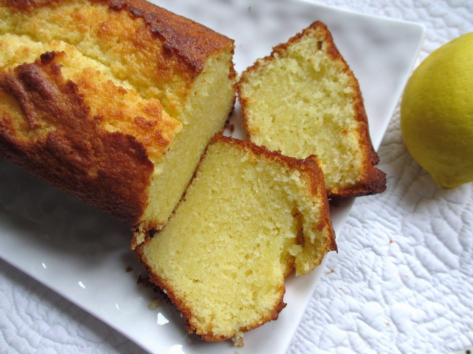 Cake Au Citron Yaourt Amandes Au Thermomix