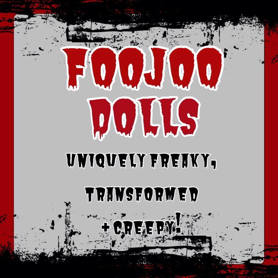 FooJoo dolls! Check out my Facebook page!!