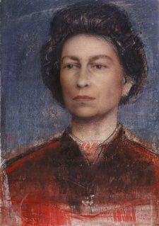Pietro Annigoni - Study of a queen