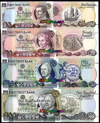 Ireland Northern Banknotes Paper Money